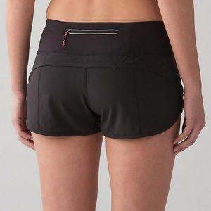 Lululemon Athletica Speed Shorts